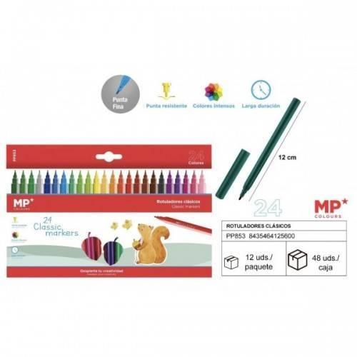 Rotuladores clásico 24colores