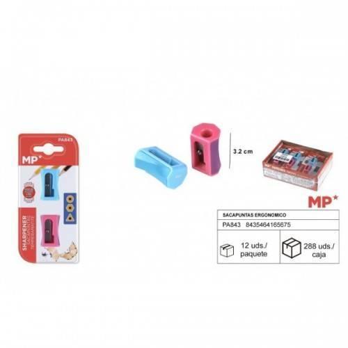 2Sacapuntas plástico Standar Ergonómico