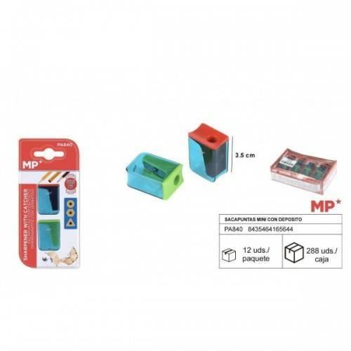 2Sacapuntas plástico Standard con depósito