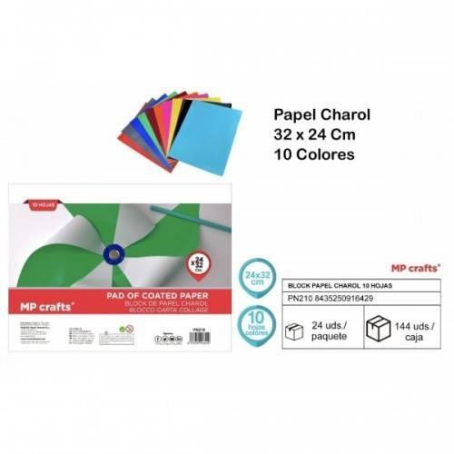 Papel charol 32x24cm 10colores