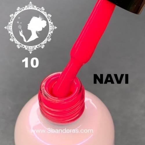 10 ROSA FLUOR Esmalte NAVI 12ml